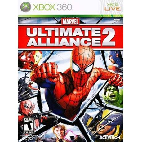 Marvel Ultimate Alliance 2 بازی Xbox 360