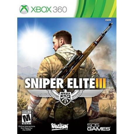 Sniper Elite III بازی Xbox 360