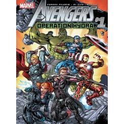 کتاب کمیک Avengers Operation Hydra