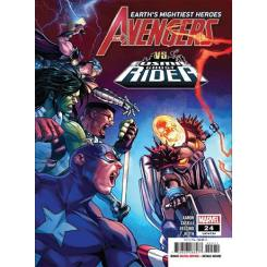 کتاب کمیک Avengers vs Cosmic Ghost Rider