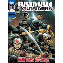 کتاب کمیک Batman and The Outsiders