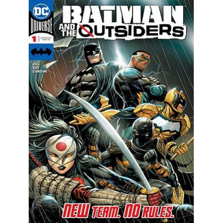 کتاب کمیک Batman and The Outsiders