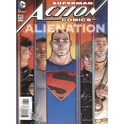 کمیک بوک Superman Action Comic Alienation