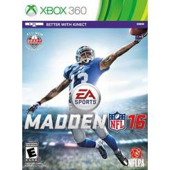 Madden NFL 16 بازی Xbox 360