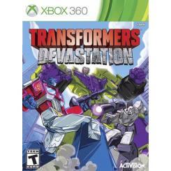 Transformers Devastation بازی Xbox 360