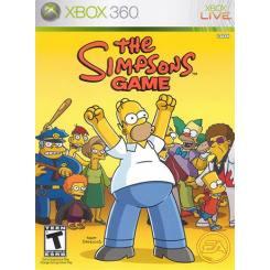 The Simpsons Game بازی Xbox 360