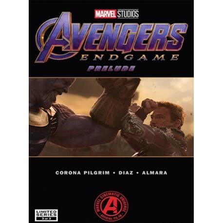 کتاب کمیک Marvel's Avengers Endgame Prelude قسمت سوم