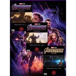 مجموعه ی کتاب کمیک Marvel's Avengers Endgame Prelude
