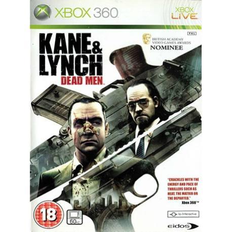 Kane & Lynch Dead Men بازی Xbox 360