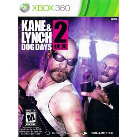 Kane & Lynch 2 Dog Days بازی Xbox 360
