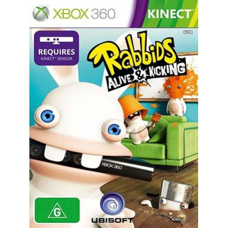 بازی Raving Rabbids: Alive & Kicking برای کینکت