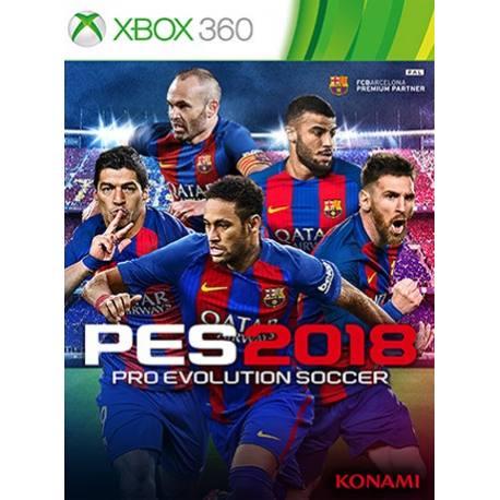 بازی PES 2018 برای Xbox360