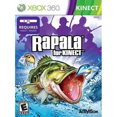 بازی ماهی گیری Rapala برای کینکت