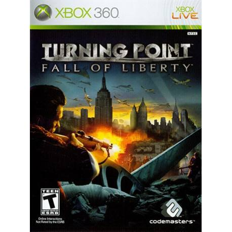 Turning Point Fall of Liberty بازی Xbox 360