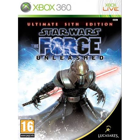 Star Wars The Force Unleashed: Ultimate Sith Edition بازی Xbox 360