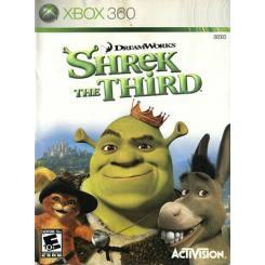 Shrek The Third بازی Xbox 360