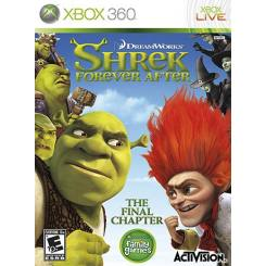 Shrek Forever After بازی Xbox 360