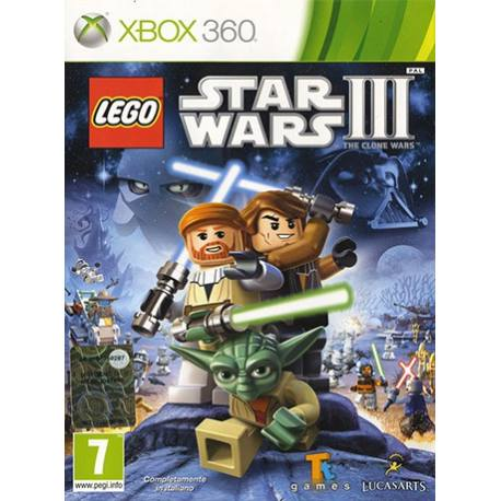 Lego Star Wars III: The Clone Wars بازی Xbox 360