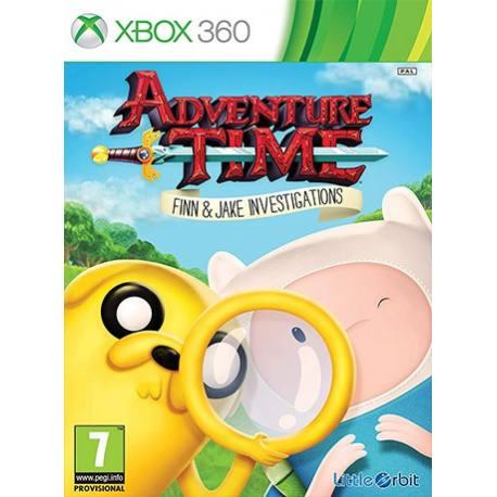 Adventure Time Finn and Jake Investigations بازی Xbox 360