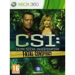 CSI Crime Scene Investigation Fatal Conspiracy بازی Xbox 360