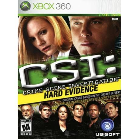 CSI Crime Scene Investigation Hard Evidence بازی Xbox 360