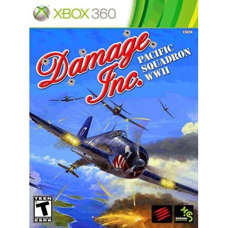 Damage Inc Pacific Squadron WWII بازی Xbox 360