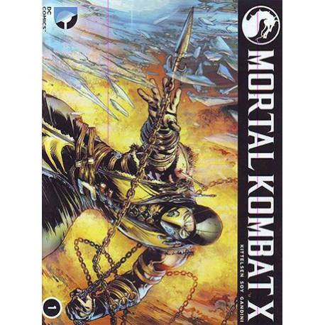 کتاب کمیک Mortal Kombat X