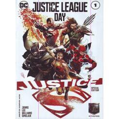 کتاب کمیک Justice League Day