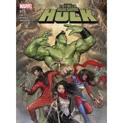 کتاب کمیک The Totally Awesome Hulk شماره 15