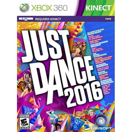 بازی Just Dance 2016 برای کینکت
