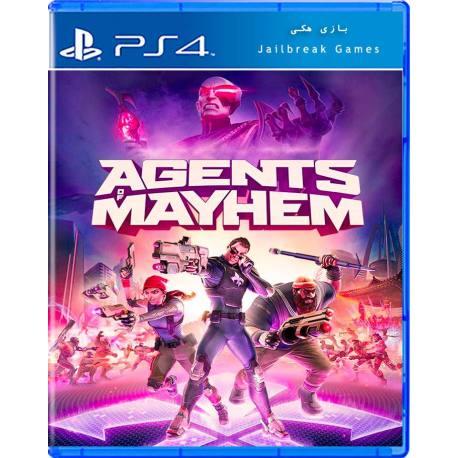 Agents of Mayhem برای Ps4 جیلبریک