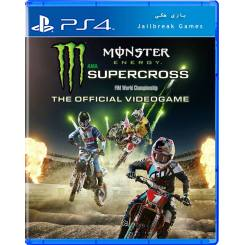 Monster Energy Supercross برای Ps4 جیلبریک
