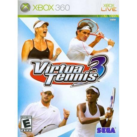 بازی Virtua Tennis 3 برای Xbox 360