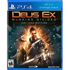 Deus Ex Mankind Divided (Day One Edition) برای Ps4 جیلبریک