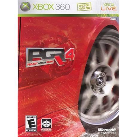 بازی Project Gotham Racing 4 برای Xbox 360