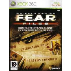 FEAR Files بازی Xbox 360