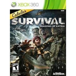Cabela's Survival Shadows of Katmai بازی Xbox 360