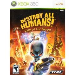 Destroy all humans Path of The Furon بازی Xbox 360