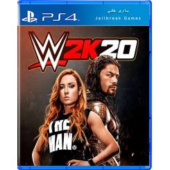 WWE 2K20 برای Ps4 جیلبریک