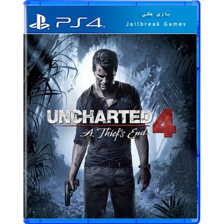 Uncharted 4 A Thief's End برای Ps4 جیلبریک