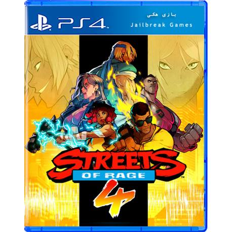 Streets of Rage 4 برای Ps4 جیلبریک