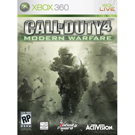 بازی Call of Duty 4: Modern Warfare برای Xbox 360
