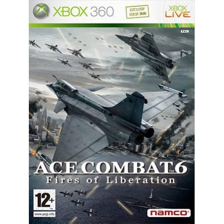 بازی Ace Combat 6 برای Xbox 360