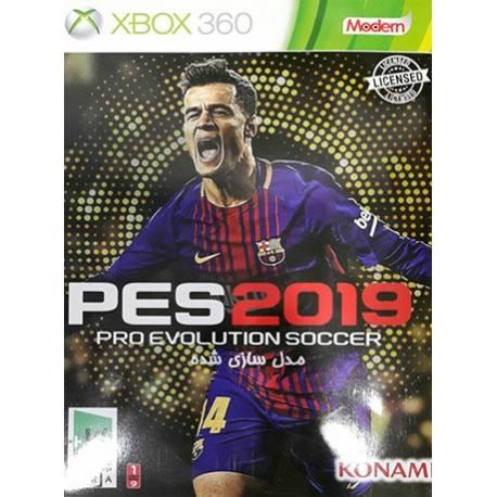 بازی PES 2019 برای Xbox 360