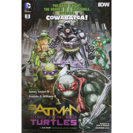 کتاب کمیک Batman Teenage Mutant Ninja Turtles