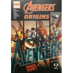 کتاب کمیک اونجرز - Avengers Origins