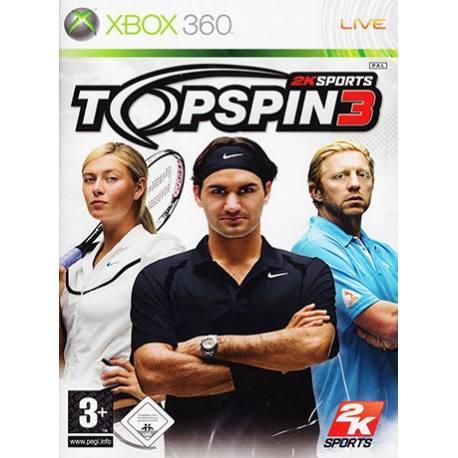 بازی Top Spin 3 برای Xbox 360