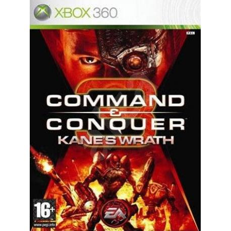 بازی Command & Conquer 3 Kanes Wrath برای Xbox 360