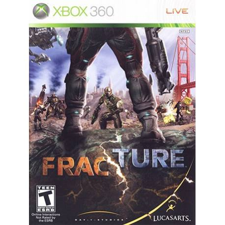 Fracture برای Xbox 360